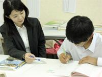 井尻の学習塾てっぺんの授業風景